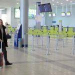 Табло аэропорта Толмачево в Новосибирске